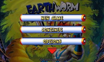 Earthworm Jim (Landscape) - Червяк Джим (Альбомная)
