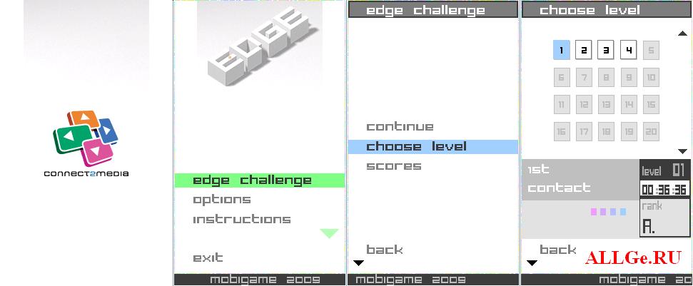 Скачать edge 3d java игра с управлением