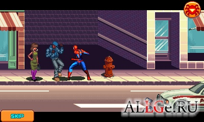 Java Игру Spider Man Toxic City