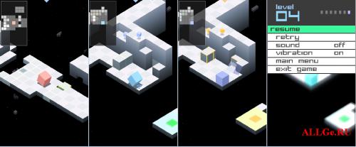 EDGE - 3D JAVA-Игра с управлением Акселерометром для LG KM900 Arena