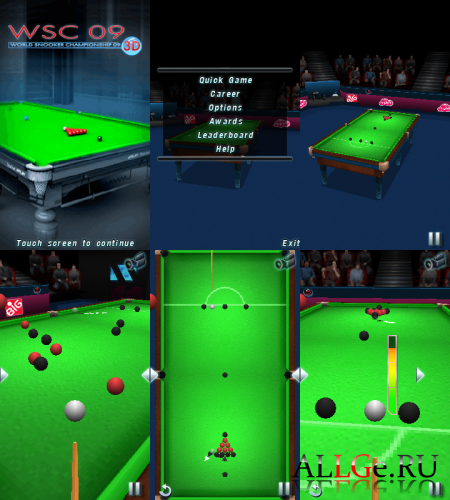 WSC Real 09: World Snooker Championship 3D