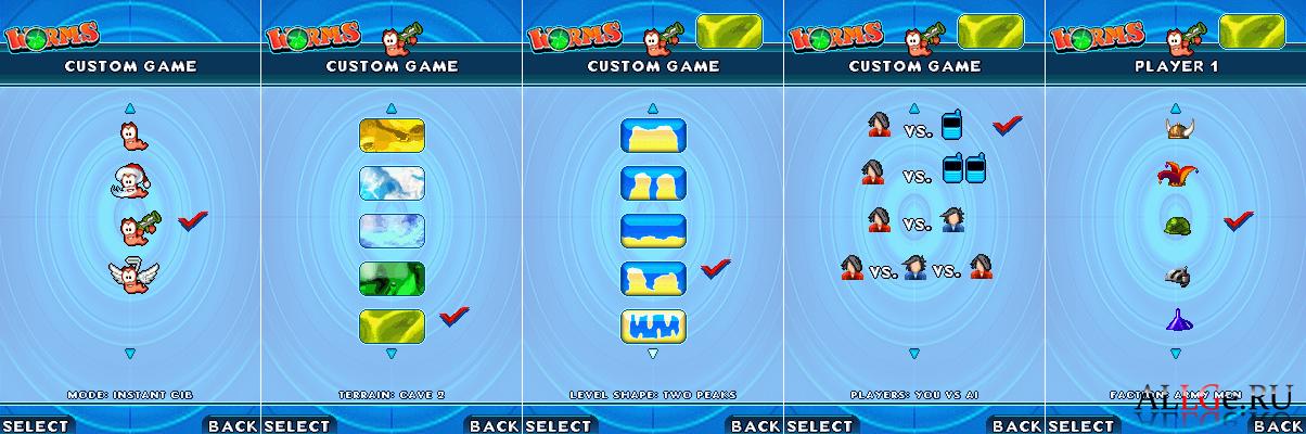 скачать игры червячки 4 на компьютер