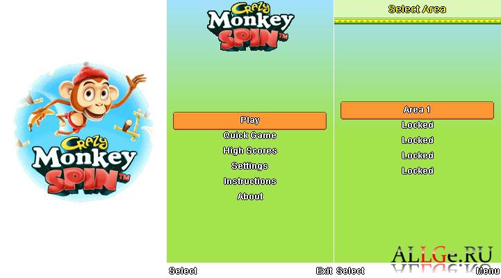 Скачать игру crazy monkey spin