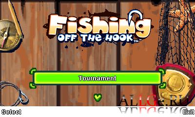 Fishing Off The Hook (Landscape + Portrait)