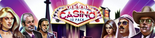 Vegas Casino: 12 pack