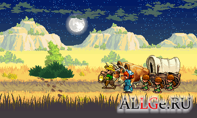 The Oregon Trail 2: Gold Rush (Landscape)