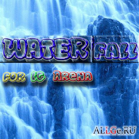 Обои 480x800 для LG Arena (Waterfall)