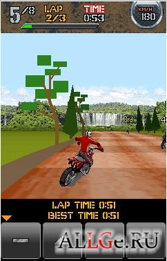 Off-road Dirt Motocross (TouchPad)