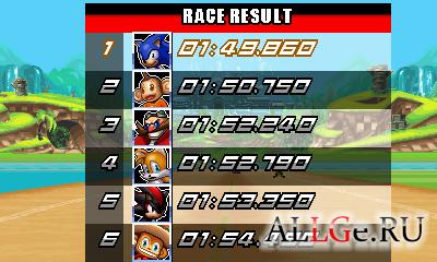 Sonic and Sega All Stars Racing (Landscape) - Гонки Соника и всех звёзд Сеги (Ландшафтная)