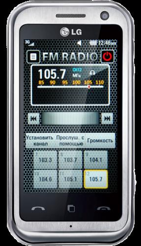 Модифицированная прошивка для LG KM900 Arena - V10P CIS Spring Edition