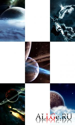 Обои для LG-Arena (Космос)