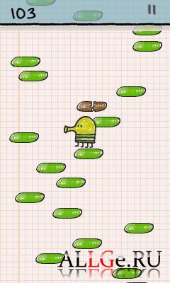 Doodle Jump с Акселерометром