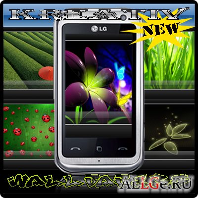 NEW Wallpapers LG Arena KM900 480x800 PACK №8