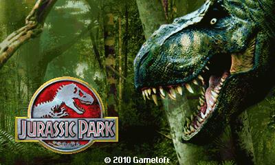 Jurassic Park (Landscape) - Парк юрского периода (Альбомная)