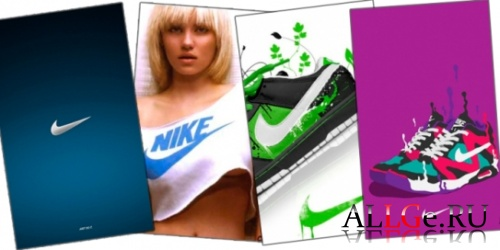 Сборник обоев Nike