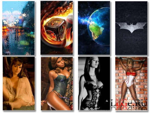 Mixed Best Wallpapers by kivavladimir #1 480x800