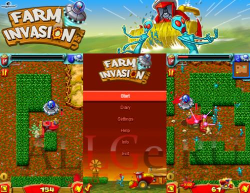 Farm Invasion USA (Russian version) - Захват Фермы США (Русская версия)