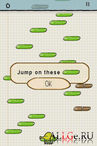 Doodle Jump (G-sensor | Акселерометр) .apk