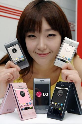 LG GT540 Optimus прошивки OS Android 1.6 (Версии для всех стран)