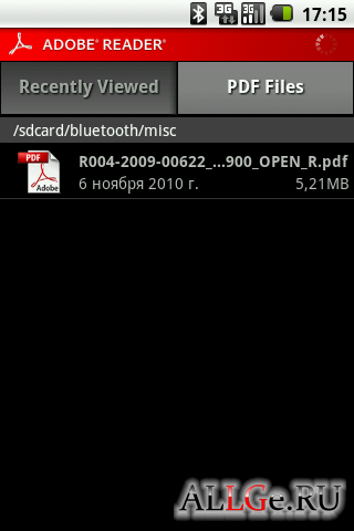 Adobe Reader .apk