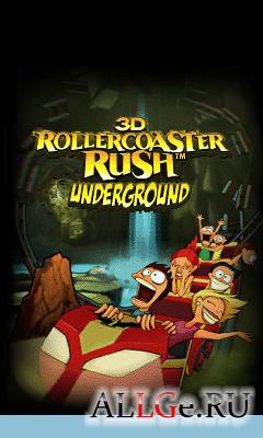 ROLLERCOASTER RUSH UNDERGROUND 3D - Американские Горки 3D: Под Землей