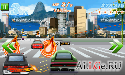 Fast Five: The Movie Official Game (Landscape) - Форсаж 5 (Альбомная)