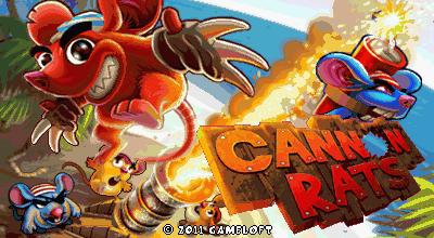 Cannon Rats (Landscape) - Крысы из пушки (Альбомная)