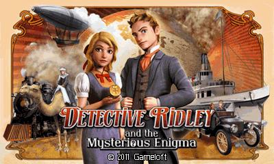 Detective Ridley And The Mysterious Enigma (Landscape) [Russian] - Детектив Ридли и Загадка Века (Альбомная) [на Русском]