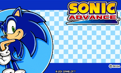 Sonic Advance (Landscape) [Russian]