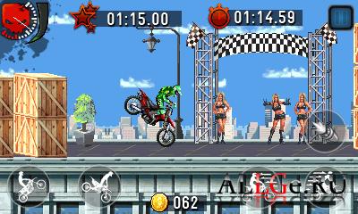 Motocross: Trial Extreme (Landscape) - Мотокросс: Экстремальный Триал (Альбомная)