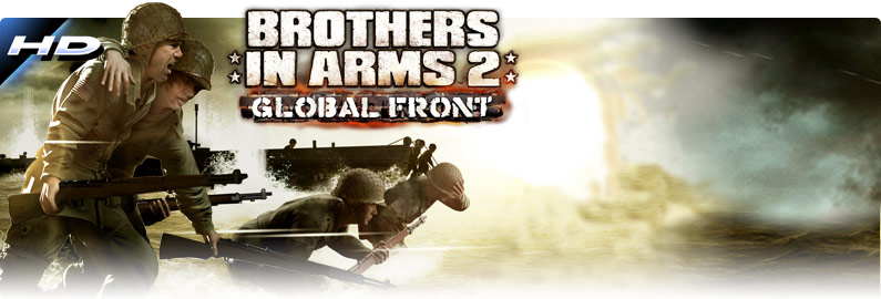 Brothers In Arms 2 Global Front for android in the game Brothers In.