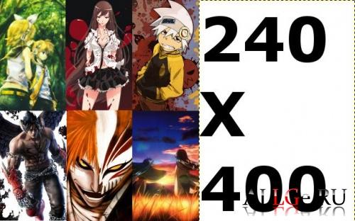 Аниме / Anime (обои 240х400)