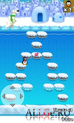 Crazy Penguin Freezeway - Сумасшедшие Пингвины: Ледяной Путь
