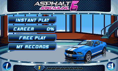 Asphalt 6: Adrenaline (JAVA)