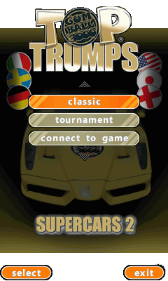 Top Trumps Supercars