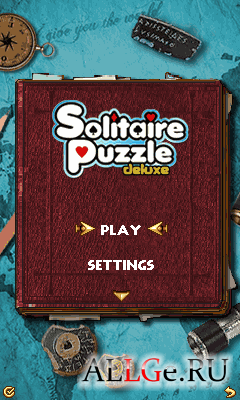 Solitaire Puzzle Deluxe - новая карточная головоломка от Glu mobile