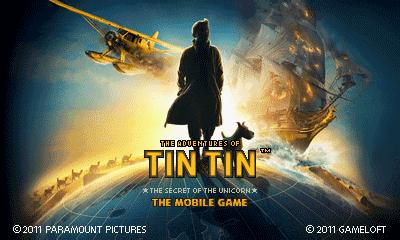 The Adventures of Tintin (Landscape) [Russian] - Приключения Тинтина (Альбомная) [на Русском]