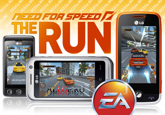Need for Speed: The Run (JAVA 3D & 2D versions) - ����� ��������: ���� (+ ��������� ������)