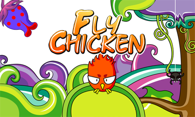 Fly Chicken (Landscape)