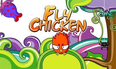Fly Chicken (Landscape)