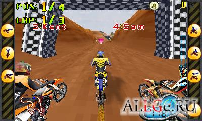 Moto Riders 3D (Landscape)