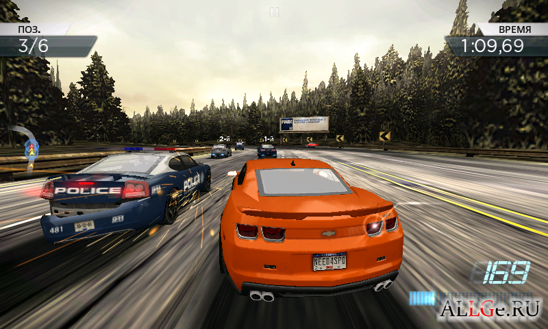 Need for speed most wanted apk tegra 2 for Nfs most wanted android