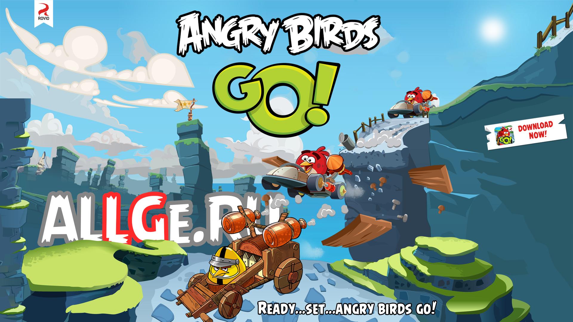 Приложения в Google Play – Angry Birds Go!