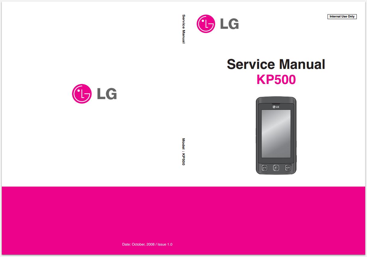 Инструкция телефона lg kp500