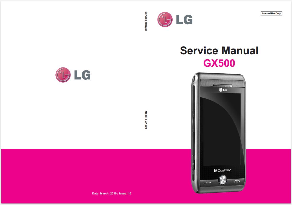 Инструкция телефон lg gx500