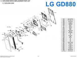 Сервисное Руководство LG GD880 Mini