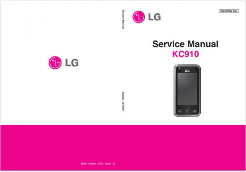 Сервисное Руководство LG KC910 Renoir