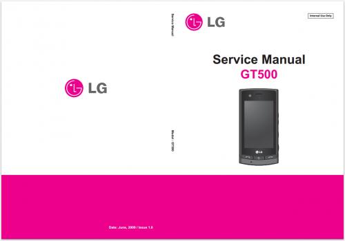 Сервисное Руководство LG GT500 Puccini
