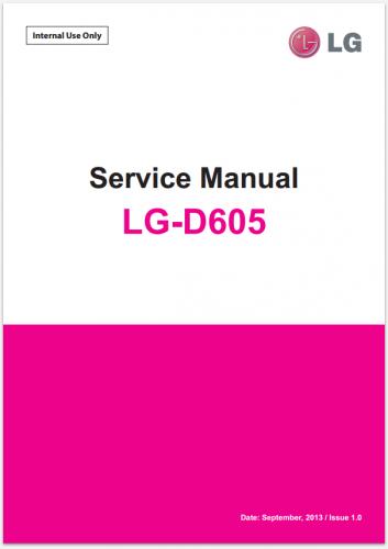 Сервисное Руководство LG D605 Optimus L9 II