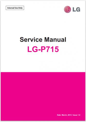 Сервисное Руководство LG P715 Optimus L7 II Dual